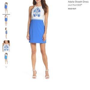 Lilly Pulitzer Adalie Shift Dress Size 8